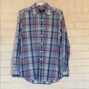 Vineyard Vines Slim Fit Tucker Shirt Plaid Size M